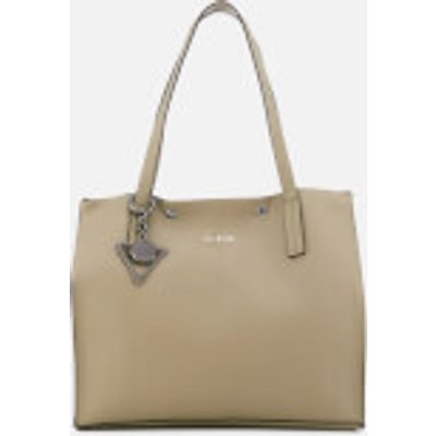 Guess Women s Kinley Carryall Bag   Taupe - 190231062530