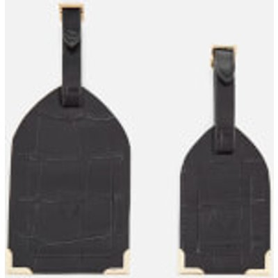 Aspinal of London Women s Luggage Tags   Black - 5055264113602