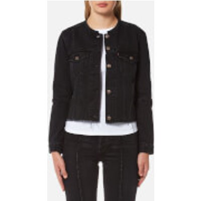 Levi s Women s Altered Trucker Jacket   Breaking Point   XS   Black - 5400537392077