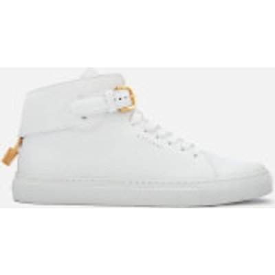0842485118500 | Buscemi Men s 100MM Buckle High Top Trainers   White White   UK 11   White Store