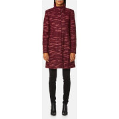 BOSS Orange Women s Okirana Coat   Dark Red   EU 36 UK 8   Red - 4029044867246