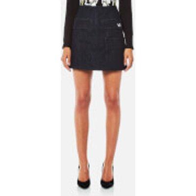 Versace Jeans Women s Skirt   Indigo   S   Blue - 8057006368537