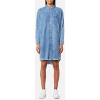 Selected Femme Women s Petra Long Sleeve Denim Dress   Medium Blue   EU 38 UK 10   Blue - 5713444435707