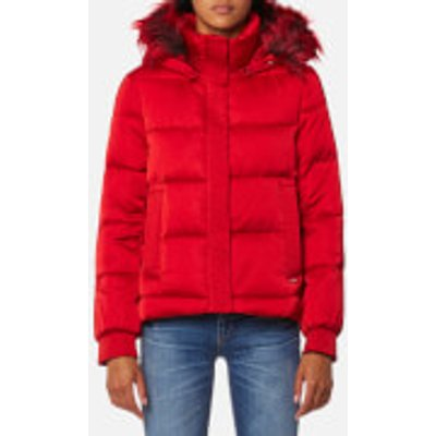 Guess Women s Esmeralda Jacket   Scuffy   S   Red - 7613359471457