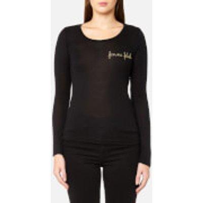 Maison Labiche Women s Femme Fatale Long Sleeve Top   Black   M   Black - 3664021106706