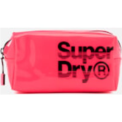 Superdry Women s Super Jelly Bag   Neon Pink - 5054576897545