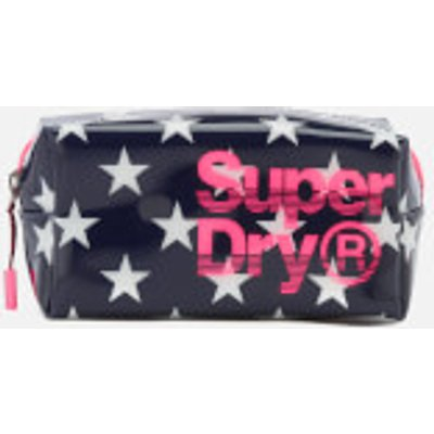 Superdry Women s Star Print Super Jelly Bag   Navy - 5054576897552