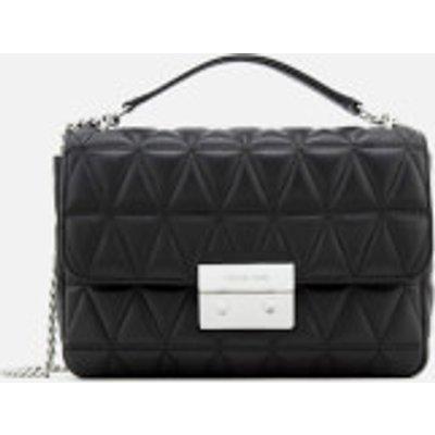 MICHAEL MICHAEL KORS Women s Sloan Large Chain Shoulder Bag   Black - 190864496382