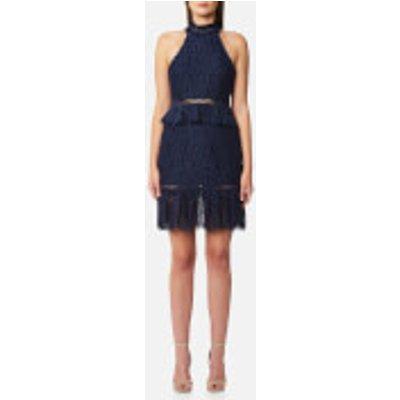 Foxiedox Women s Emilia High Neck Dress   Navy   L   Navy - 855889007615