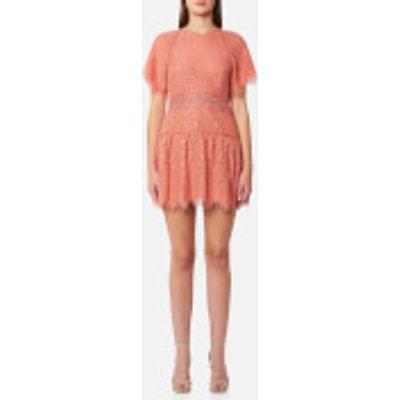 Foxiedox Women s Corallina Open Back Dress   Coral   XS   Pink - 856737007702
