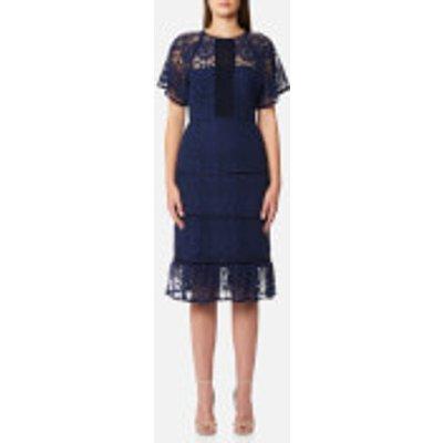 Foxiedox Women s Morganne Midi Dress   Navy   S   Navy - 857550007511
