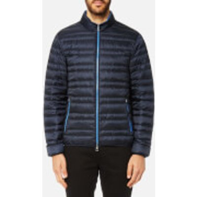 Michael Kors Men s Channel Quilted Jacket   Midnight   XXL   Blue - 191214350200