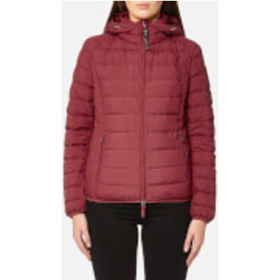 Parajumpers Women s Juliet Super Lightweight Coat   Dark Red   S   Red - 8033441460234