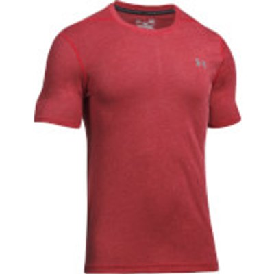 Under Armour Men s Threadborne Fitted 3C T Shirt   Red   L   Red - 190510271608