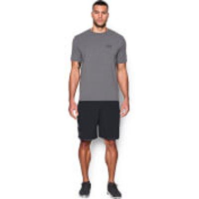 Under Armour Men s Qualifier 9 Inch Woven Shorts   Black   L   Black - 889362818634