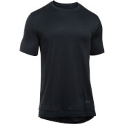 Under Armour Men s Layered T Shirt   Black   L   Black - 190510001366