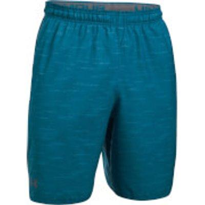 Under Armour Men s Qualifier Printed Shorts   Blue   M   Blue - 190510226929