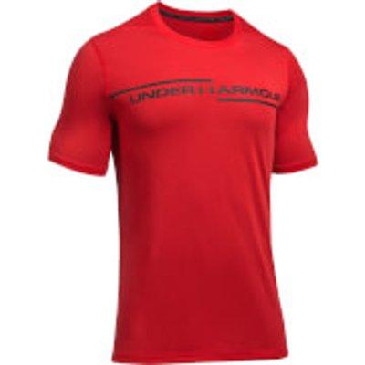 Under Armour Men s Threadborne Cross Chest T Shirt   Red   L   Red - 190510302630