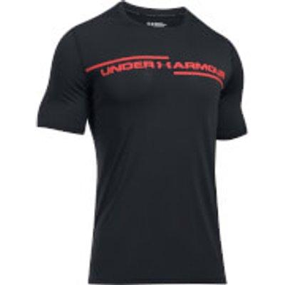 Under Armour Men s Threadborne Cross Chest T Shirt   Black   L   Black - 190510301497