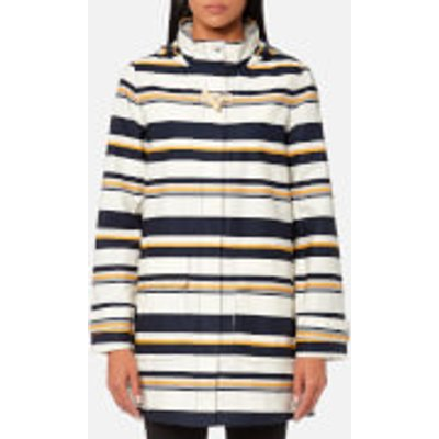 Joules Women s Haven Waterproof Hooded Jacket   Multi Stripe   UK 8   Multi - 5054411964913