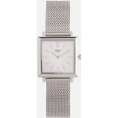 Henry London Women s Heritage Square Link Watch   Silver - 5018479086369