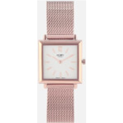 Henry London Women s Heritage Square Link Watch   Rose Gold - 5018479086352