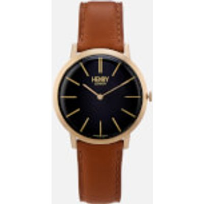 Henry London Men s 40mm Iconic Watch   Brown - 5018479086277