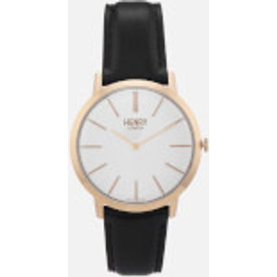 Henry London Men s 40mm Iconic Watch   Black - 5018479086253