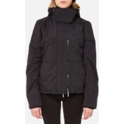 Superdry Women s Sherpa Wind Attacker Jacket   Black   XS   Black - 5054265698200