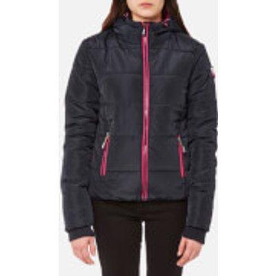 Superdry Women s Sports Puffer Jacket   Navy   XS   Blue - 5054265769641