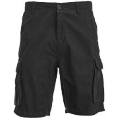 Brave Soul Men's Riverwood Cargo Shorts - Black - S