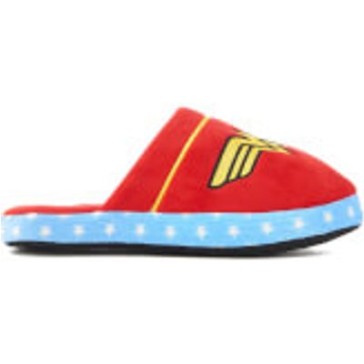 DC Comics Women's Wonder Woman Slippers - Red - M/UK 2-4 - Red