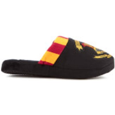 Harry Potter Women's Hogwarts Slippers - Black - L/UK 5-7 - Black