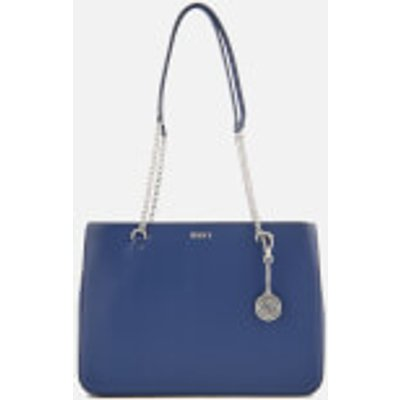 DKNY Women s Bryant Large Shopper Tote Bag   Iris - 802892841545