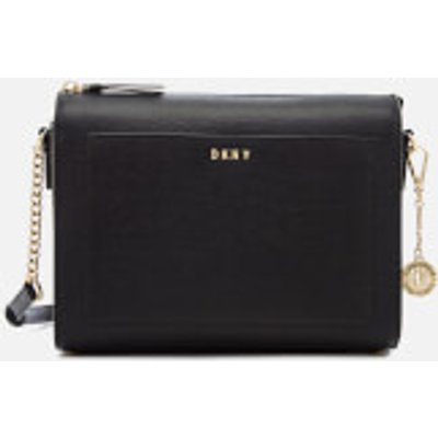 DKNY Sutton Textured Leather Medium Cross Body Bag  Black - 802892845932