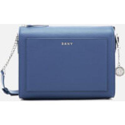 DKNY Women s Bryant Medium Box Cross Body Bag   Blue Jay - 802892842016