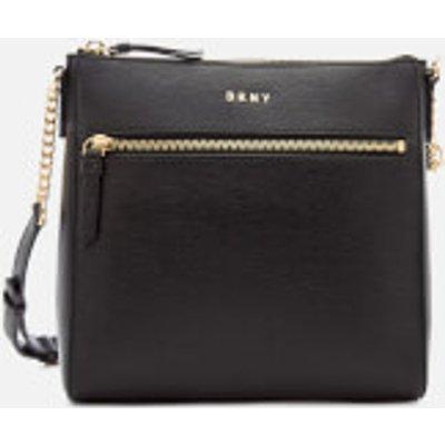 DKNY Women s Bryant Top Zip Cross Body Bag   Black - 802892845918