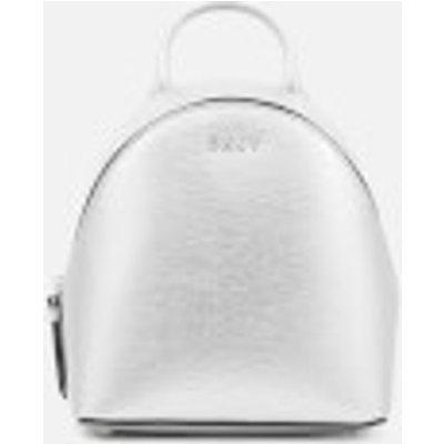 DKNY Women s Bryant Mini Backpack Cross Body Bag   Dark Silver - 802892841484