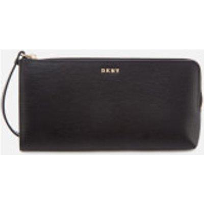 DKNY Women s Bryant Medium Wristlet Pouch Bag   Black - 802892842702
