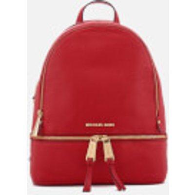 MICHAEL MICHAEL KORS Women s Rhea Zip Medium Backpack   Bright Red - 190864485515