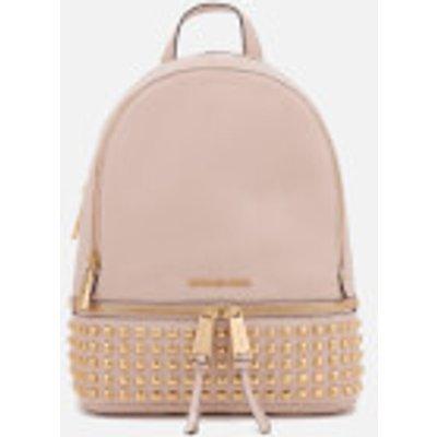 MICHAEL MICHAEL KORS Women s Rhea Zip Medium Stud Backpack   Soft Pink - 190864485560