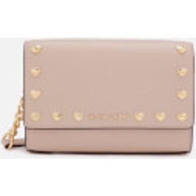 MICHAEL MICHAEL KORS Women s Ruby Medium Clutch Bag   Soft Pink - 191935075703