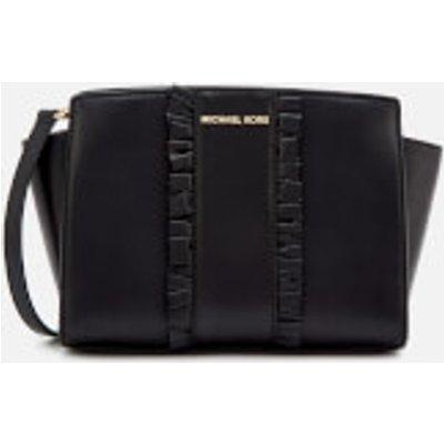MICHAEL MICHAEL KORS Women s Selma Medium Messenger Bag   Black - 191935074027