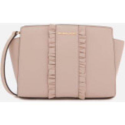 MICHAEL MICHAEL KORS Women s Selma Medium Messenger Bag   Soft Pink - 191935074034