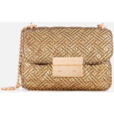 MICHAEL MICHAEL KORS Women s Sloan Small Chain Shoulder Bag   Gold - 191935080646