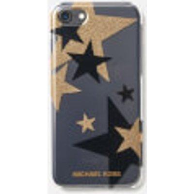 MICHAEL MICHAEL KORS Women's Electronic Plastic iPhone 7 Cover - Clear/Black