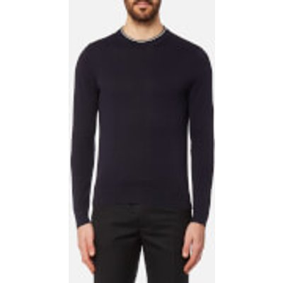 PS by Paul Smith Men's Crew Neck Knitted Jumper - Navy - XXL - Navy