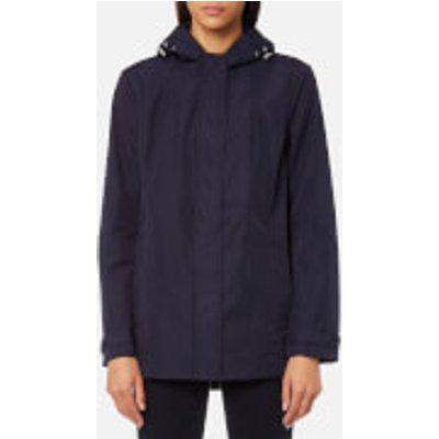 GANT Women s Soft Shell Parka Jacket   Evening Blue   L   Blue - 7325702050287