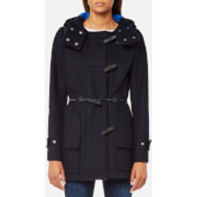Hunter Women s Original Bonded Wool Duffle Coat   Navy   XL   Navy - 5054916059367