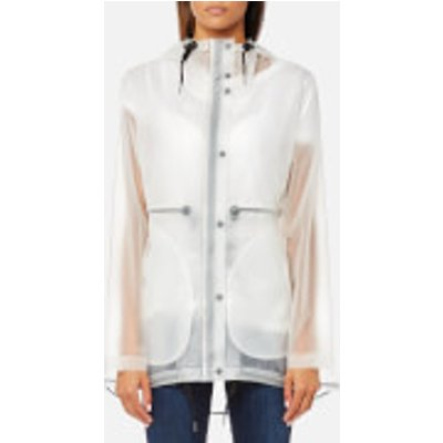 Hunter Women s Original Clear Smock   Desert White   L   White - 5013441429236